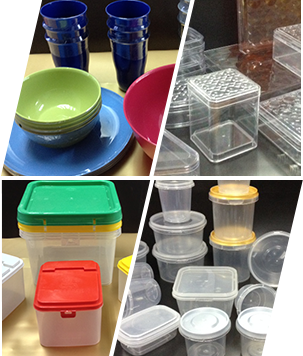 Injection moulding plastic